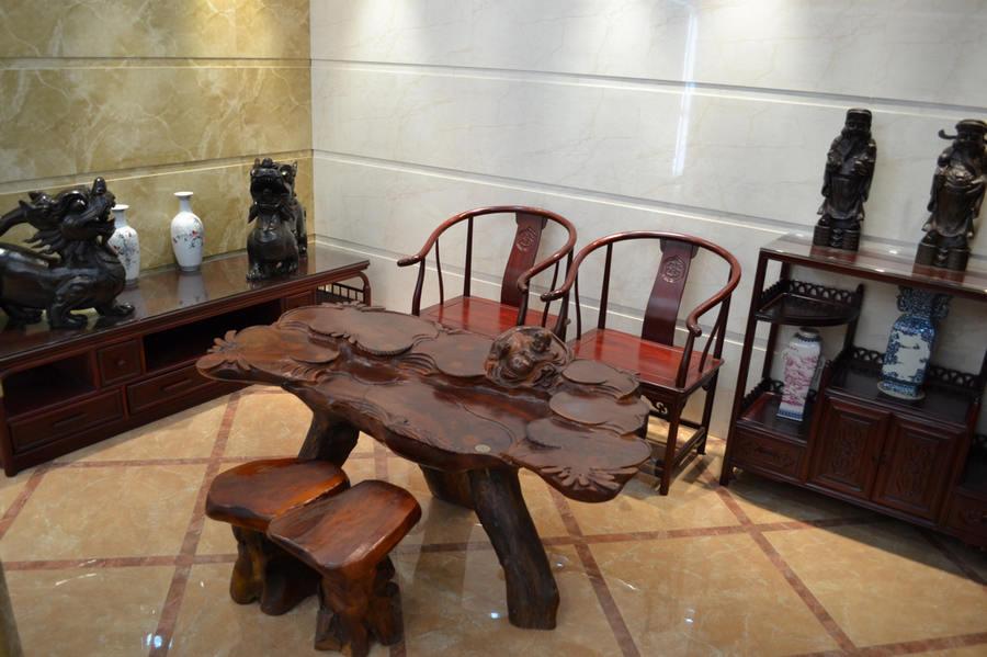 企业在生产红木家具时
