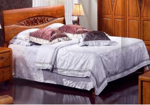 <b>宇皇家具</b>巴梨风韵系列 型号:BL6602    规格:1.8米床
