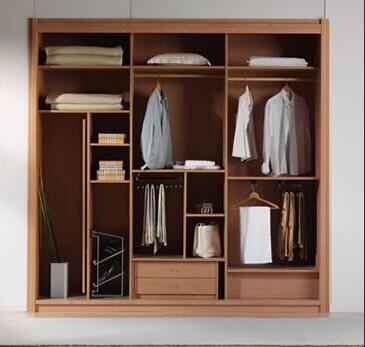 <b>丹麦风情衣柜</b> 18厘E1级颗粒板或高密度板柜体
